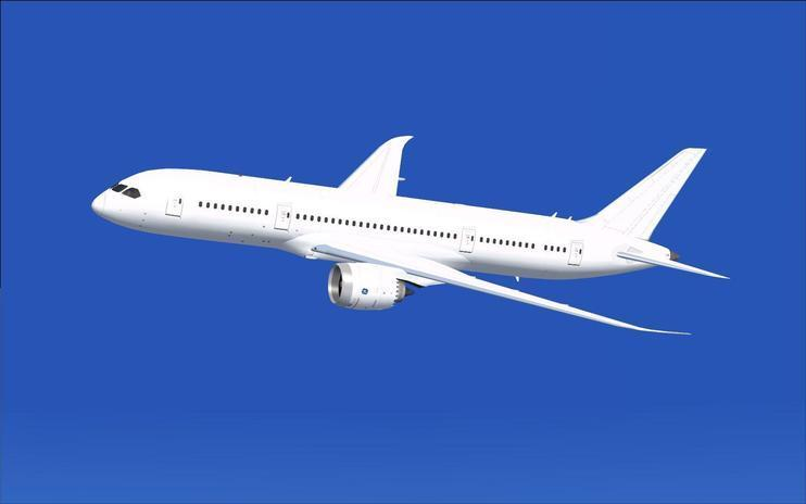 FSX CamSim AI Aircraft Boeing 787-8 Base Model