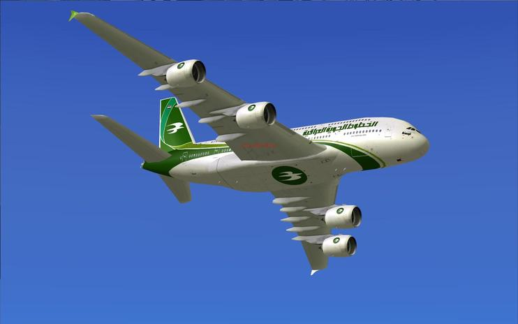 FS2004/FSX Iraqi Airways Airbus A380-800