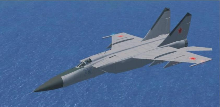 FSX Update for the Alpha Mig-25 Foxbat