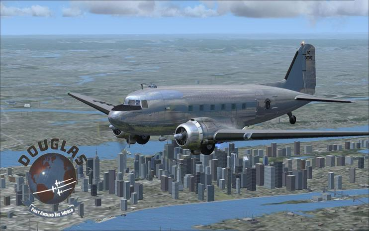 FSX Douglas DC-3 Sleeper Transport Repaint