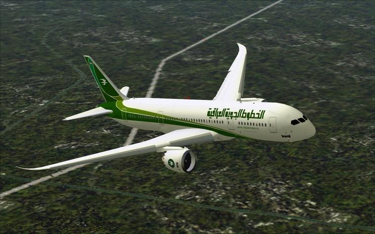 FS2004 Iraqi Airways Boeing 787-800