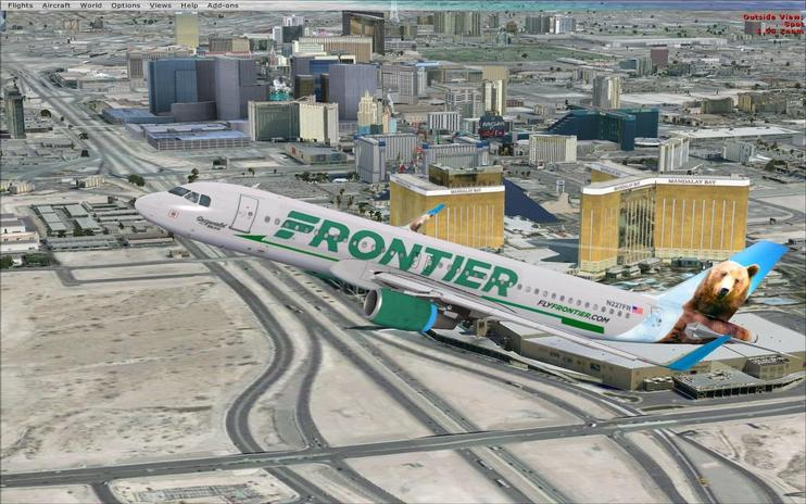 FSX Frontier Airbus A320