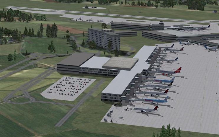 FSX Scenery - Manchester International Airport
