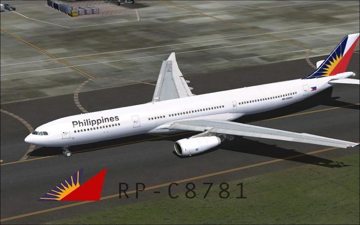 FSX Philippine Airlines Airbus A330-313