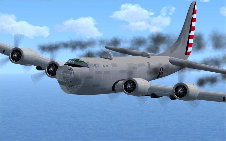 FSX Douglas XB-19 With Updated Panels
