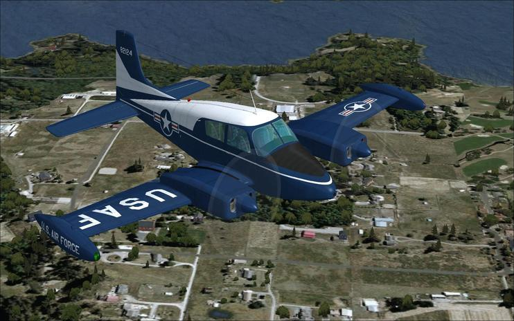 FSX US Air Force Cessna U-3A