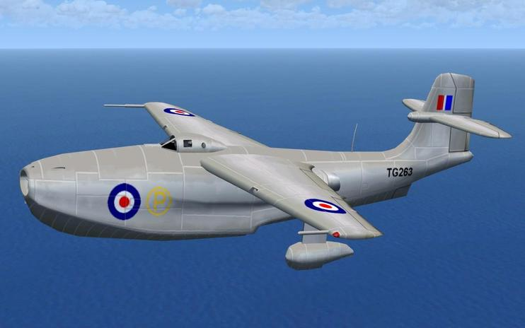 FSX Saunders Roe SR-A1 Updated