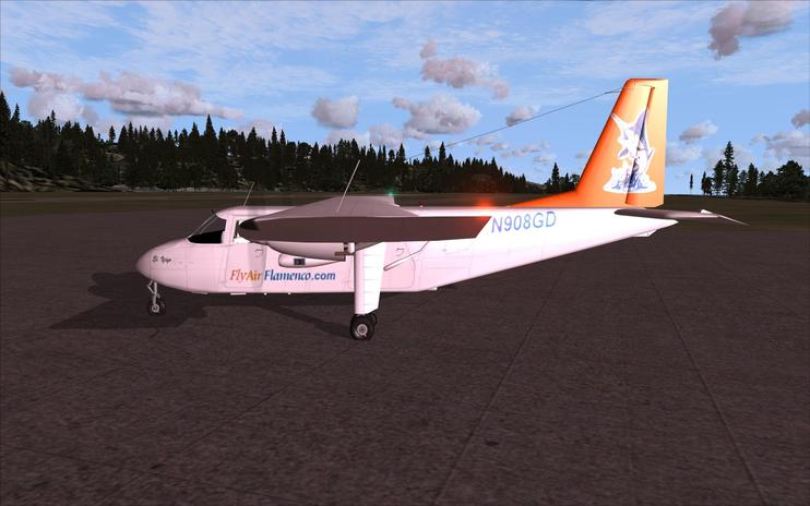 FSX VAL And Flamenco BN2 Islander