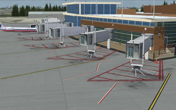 FSX Scenery - General Downing Peoria International Airport