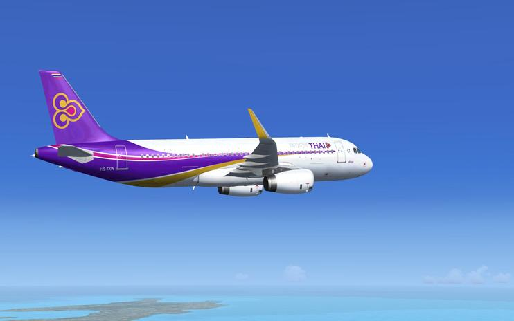 FS2004/FSX Thai Airway Executive