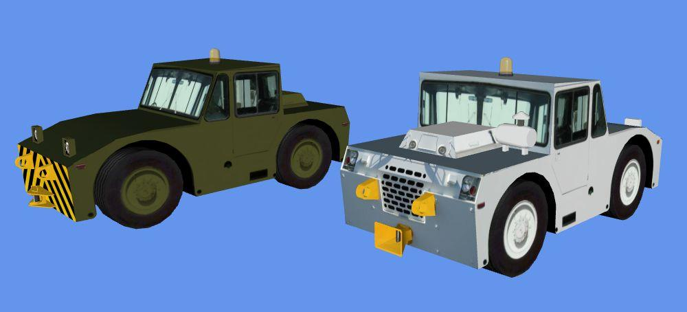 FSX Grove MB-2 Pushback Tractor