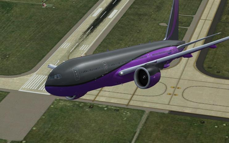 FSX Private Boeing 777-200LR