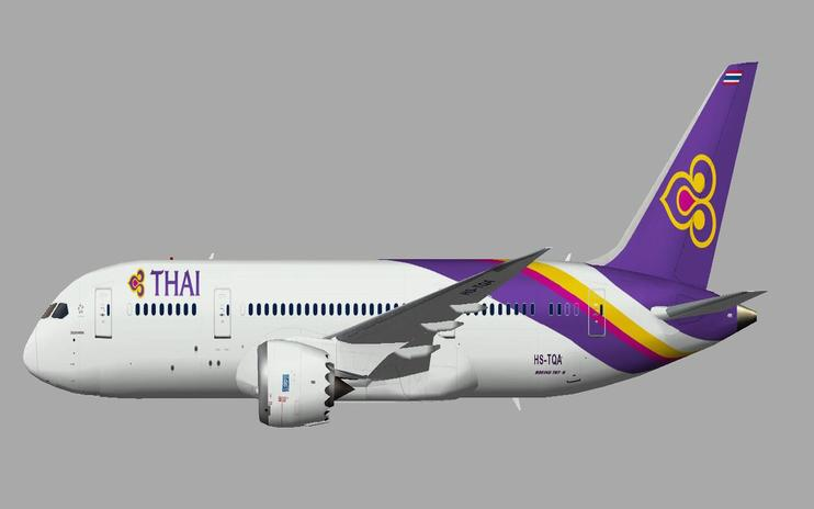 FSX Thai Airways Boeing 787-8