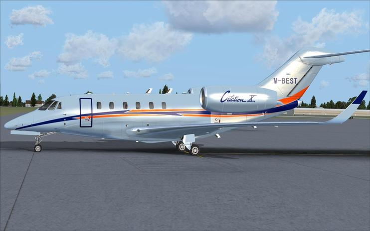 FSX Cessna Citation X M-BEST