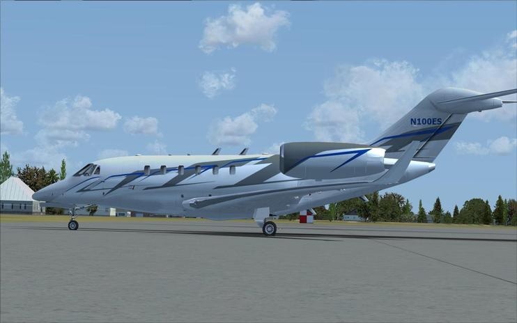 FSX Cessna Citation X (TEN)