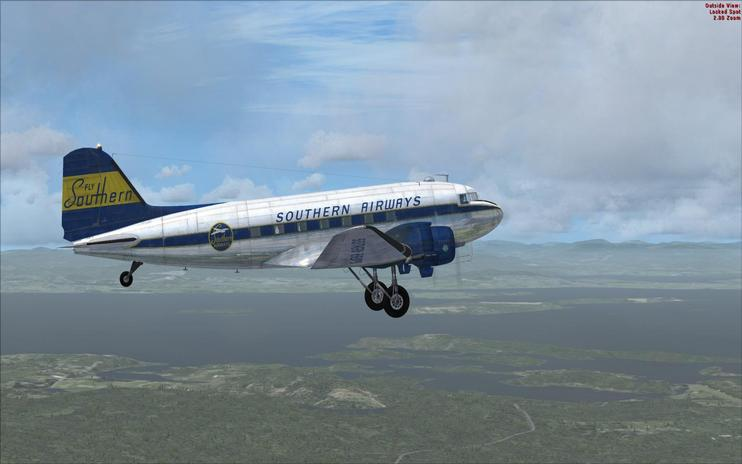 FSX Southern Airways C-47 Skytrain