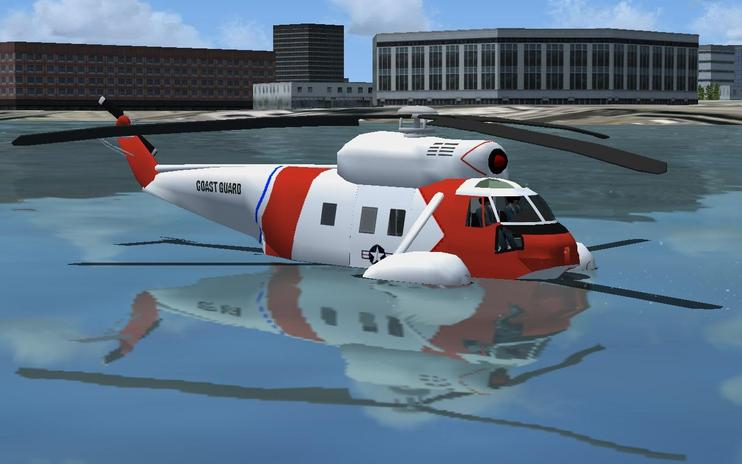 FSX Sikorsky HH-62 Sea Guardian
