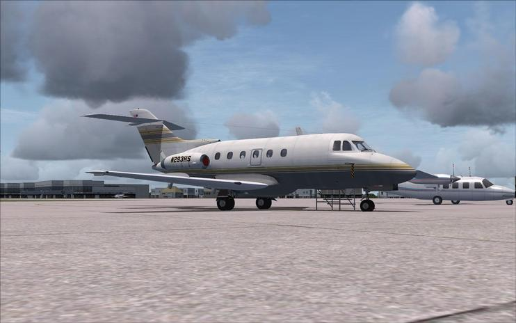FSX de Havilland DH.125 N4444Z And N293HS