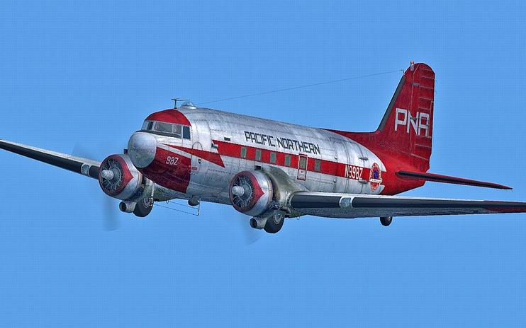FSX Pacific Northern Douglas C-47