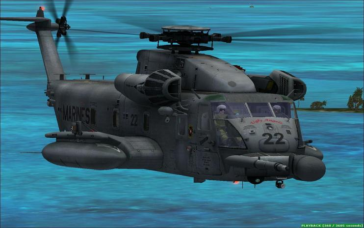 FSX USMC MH53J Pavelow III