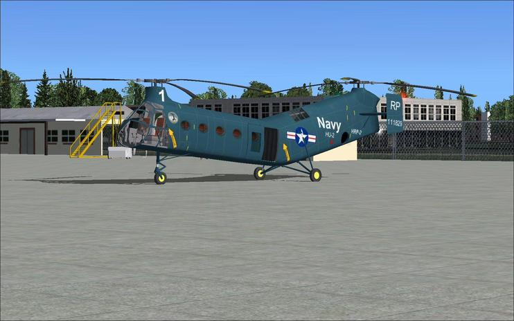 FSX Piasecki H-21/HRP-2 Updated Package