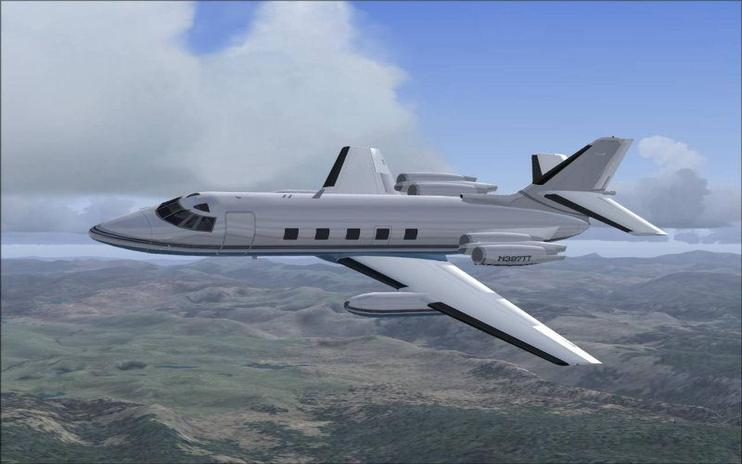 FSX Lockheed Jetstar II Updated Package