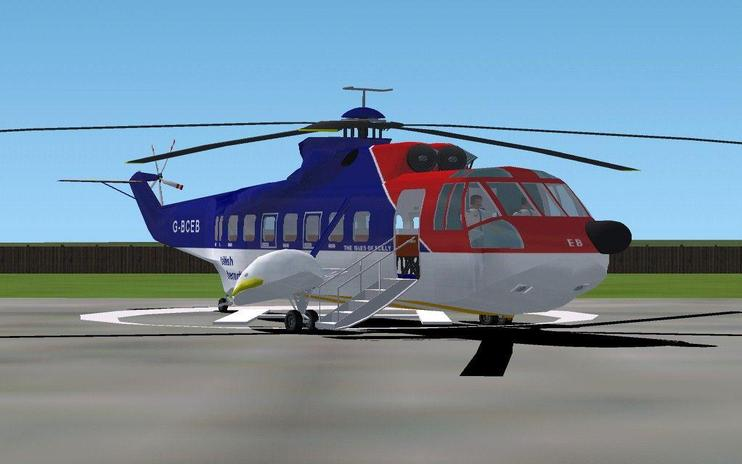 FSX Sikorsky S-61N Updated Package