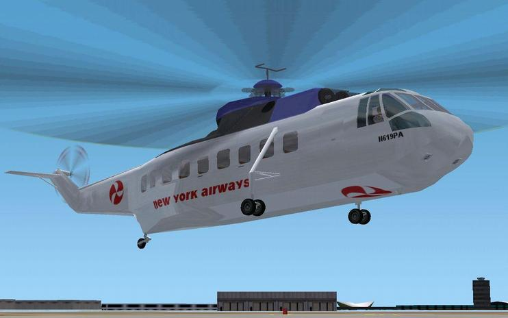 FSX Sikorsky S-61L Updated Package