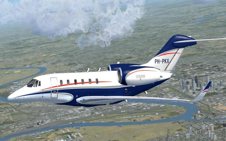 FSX Cessna Citation X PH-PKX