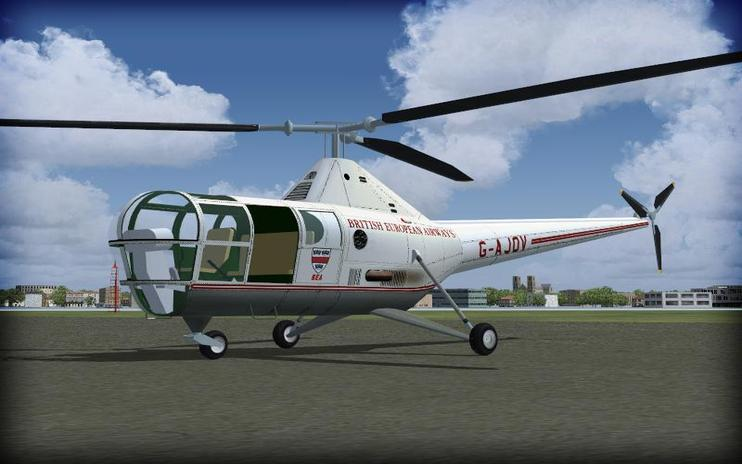 FSX Sikorsky S-51, H-5, HO3S-1 Dragonfly Update
