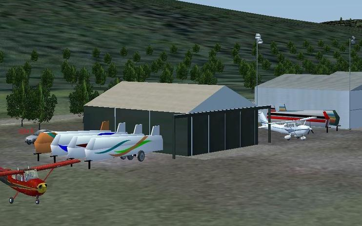 FS2004 Scenery - Brokenstraw Airport