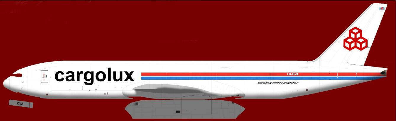 FS2004/FSX Boeing 777-200 Fictional Livery Pack