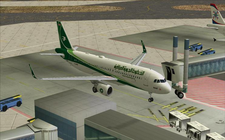 FS2004/FSX Iraqi Airways Airbus A320