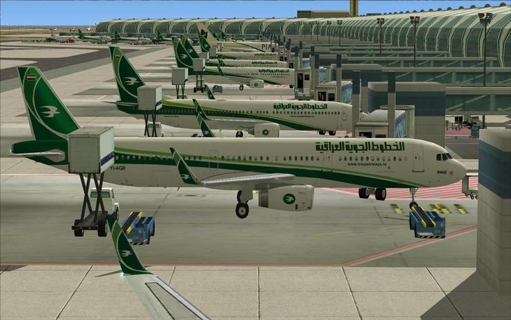 FS2004/FSX Iraqi Airways Airbus A321
