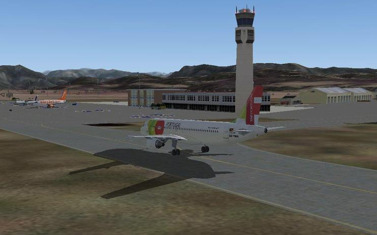 FS2004 Scenery - Grenoble Isere Airport