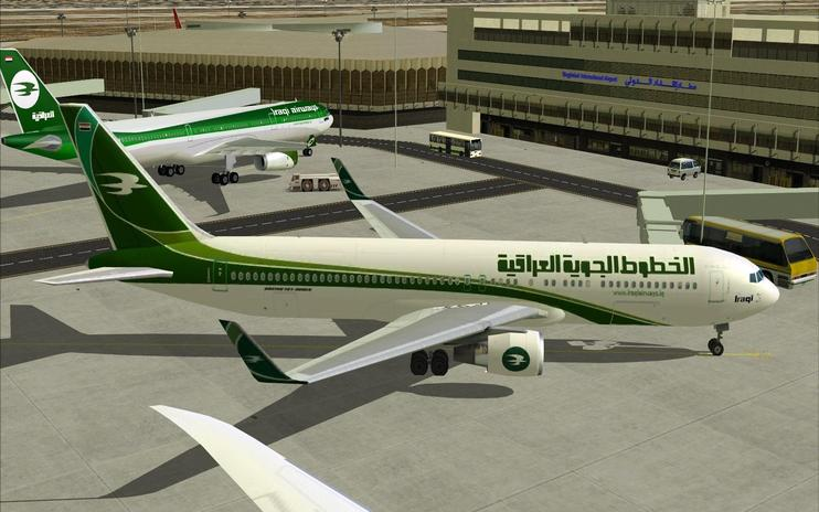 FS2004/FSX Iraqi Airways Boeing 767-300ER