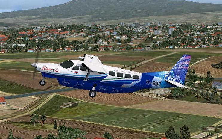 FS2004 Nature Air Cessna 208B Caravan