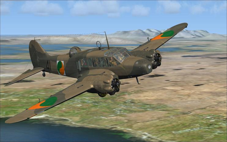 FSX Irish Air Corps Avro Anson MK1