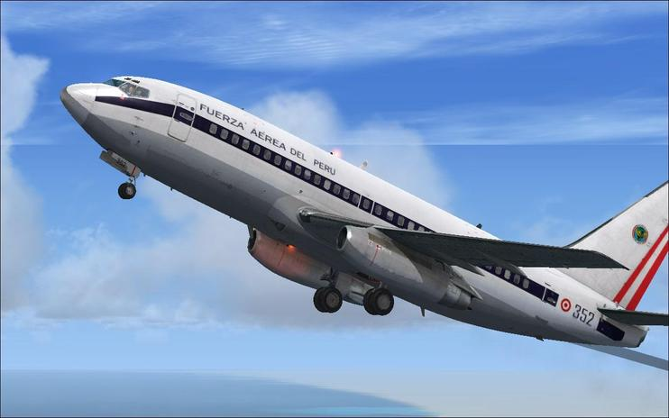 FSX Air Force Peru Boeing 737-200