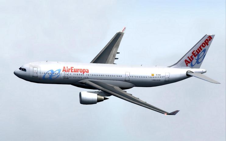 FS2004/FSX Air Europa A330-200 by Britney Ren / FSX Add-ons