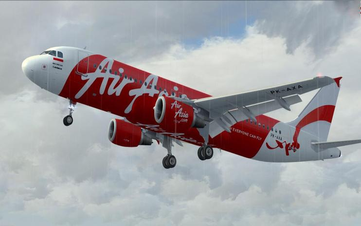 FSX Indonesia Air Asia Airbus A320-200