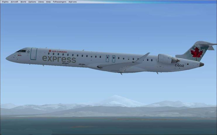 FS2004/FSX Air Canada Express CRJ705 Fleet