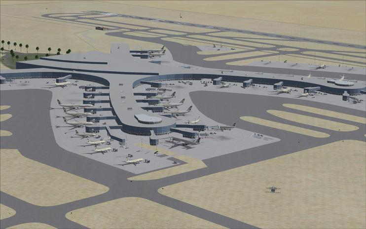 FSX Scenery - Abu Dhabi International Airport