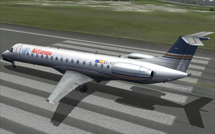 FSX Privilege Style (Air Europa) Embraer 145