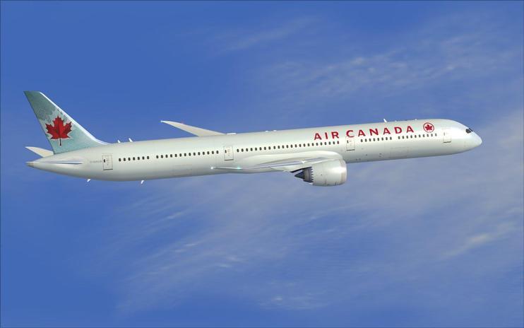 Fsx air canada boeing 787 10 flight simulator x fsx addons