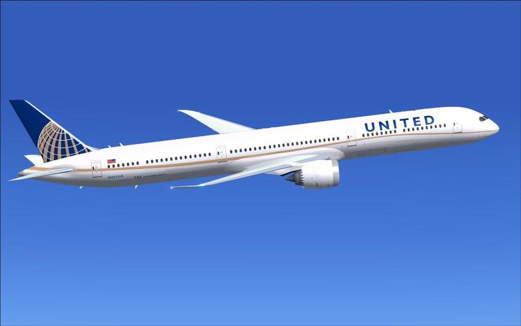 FSX United Airlines Boeing 787-10