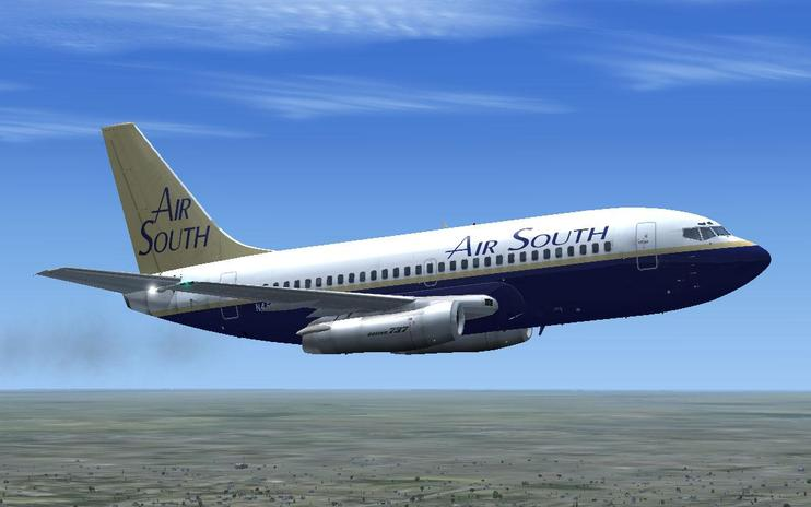 FSX Air South Boeing 737-200