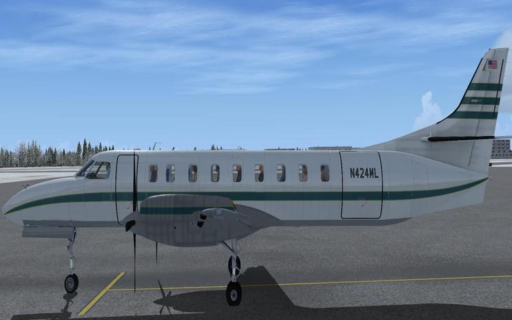 FSX/Prepar3D Metro 3 N424ML And N425ML