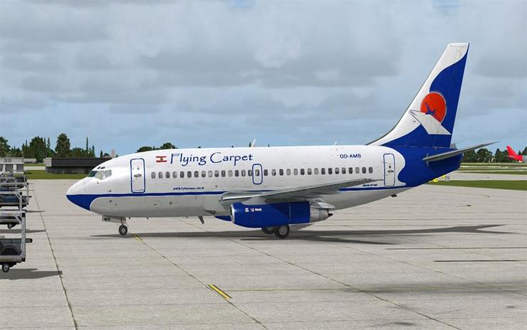 FSX Flying Carpet Boeing 737-200ADV