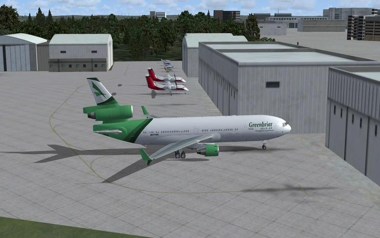 FSX Greenbriar Westhall Charters McDonnell Douglas MD-11